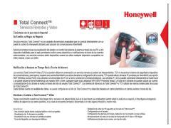 Equipo de alarmas Honeywell