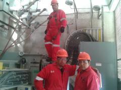 Análisis de aceite dieléctrico de transformador, pruebas a equipos electricos de alta tensión