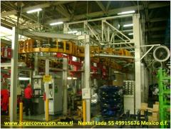 Power & Free Over Head Conveyors