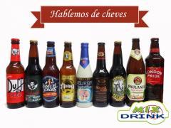 Cervezas artesanales, importadas y nacionales