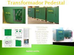 Transformador tipo pedestal