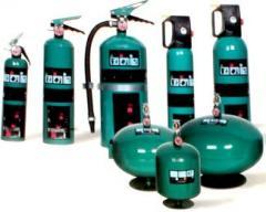Extintor de gas agente limpio