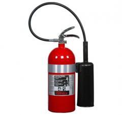 Extintor de bióxido de carbono Co2