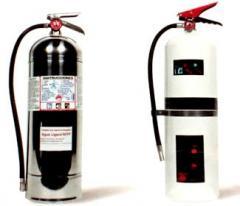 Extintor de agua lijera