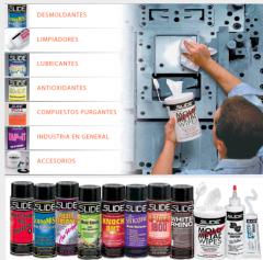 Desmoldantes, limpiadores, lubricantes, antioxidantes, compuestos purgantes