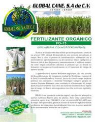 F0-15 Fertilizante orgánico