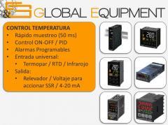 OMRON control temperatura y proceso