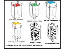 DIFERENTES MODELOS DE SUPER SACOS