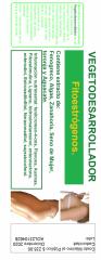 Producto de origen vegetal Vegetodesarrollador