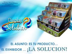 Exhibidor Display De Carton Pop