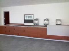 Muebles  para oficina, escuela y comercio, botes de acero inoxidable