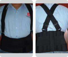 Fajas industriales, rehabilitacion y protección corporal