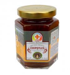 Salsa de Chiles Chipotles en vinagre de pulpa de mango