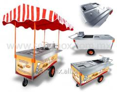 Cart for hot dogs and hamburgers CH Mod 190