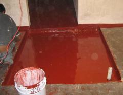 Water-resistant paints