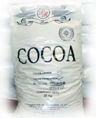 Materia prima. Cocoa.
