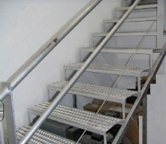 Escaleras de metal