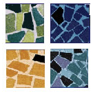 Tile for ponds