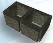 Concrete wall blocks