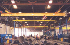 Cranes for metallurgical works