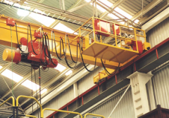 Movable cranes with manual control