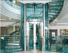 Elevators, for panoramic view (with transparent