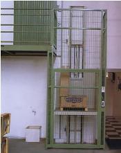 Plataformas de 1 columna (con seguridad) .