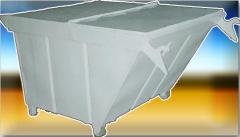 Refuse collection container