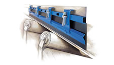 Components and equipment for the screw conveyors