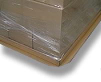 Pallets, cargo pasteboard pans