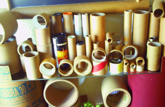 Tubes made of cardboard