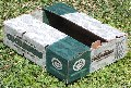 Empaque agrícola.Caja para pepino Armado manual.