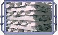 Lingotes de aluminio.