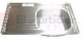 TARJA A.INOX C-101 IZQ 87X54