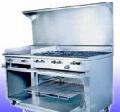 Estufa Master 6 quemadores con horno y plancha