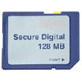 Tarjeta de memoria secure digital 128 MB