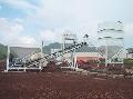 Planta dosificadora de concreto 1 tolva