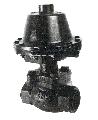 Válvula de globo recta roscada
