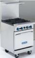 Estufa de 4 quemadores con horno