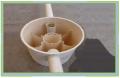 Trampas de grasa prefabricadas de plástico reforzado