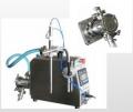 Llenadora de bomba tipo PU 1000 semiautomática para líquidos   No viscosos y viscosos. (hasta 20,000 cps)