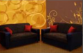 Sofa color cafe
