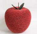 Decoracion en forma de manzana