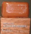 Jabón con aceite de mamey