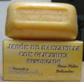 Jabón de manzanilla con glicerina reforzado