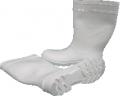 Botas de goma blancas