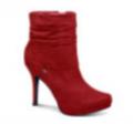 Botas de dama rojas