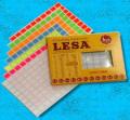 Etiqueta adhesiva Lesa