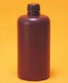 Botella boca angosta color ambar