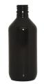 Envase Genérico PET en color ambar con capacidad de 240 ml y tamaño de rosca de 24 mmm, perfecto para jarabes.